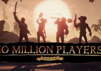بازی Sea of Thieves بازیکنانش از ۱۰ میلیون نفر عبور کرد